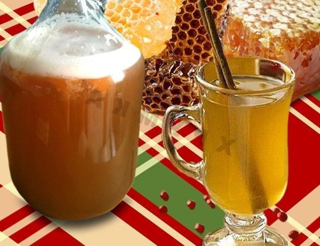 Пиво в домашних условиях из меда и 567