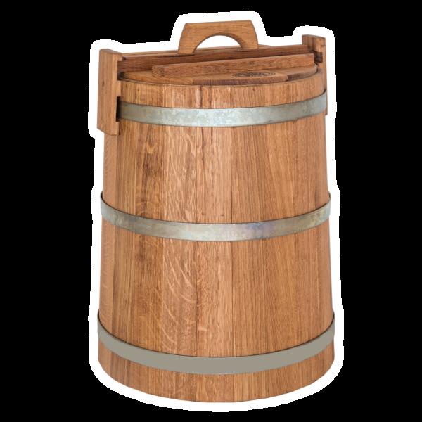 Кадка дубовая для солений 30л