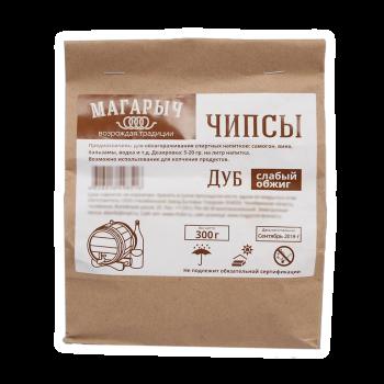 Чипсы Магарыч Дубовые, средний обжиг 300 гр.