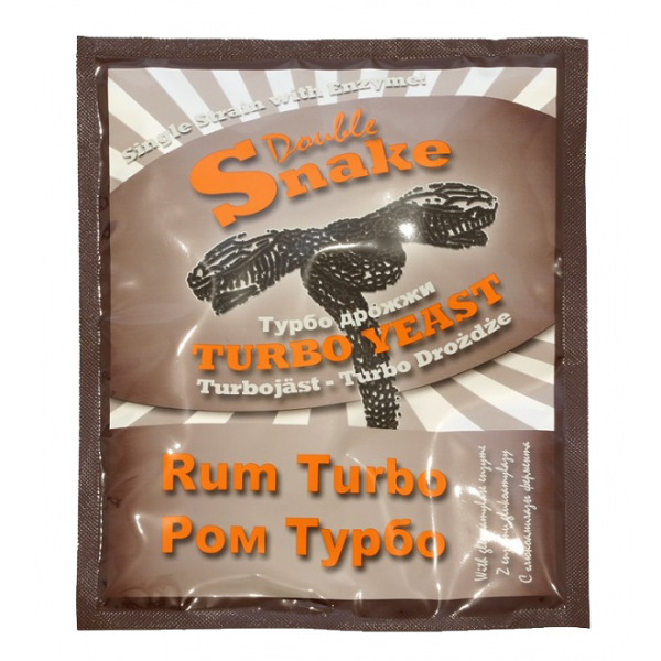 Дрожжи для рома Double Snake Turbo Yeast Rum
