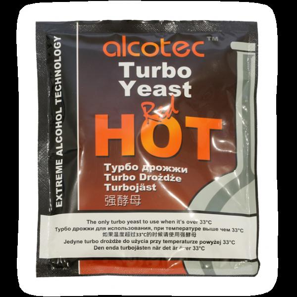 Спиртовые дрожжи Alcotec Red Hot Turbo