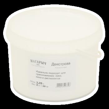 Глюкоза (декстроза моногидрат), упаковка 2кг