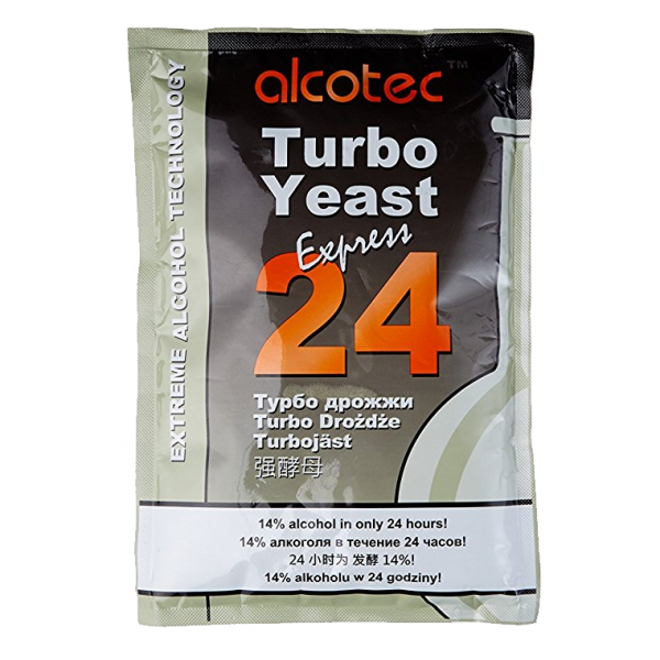Спиртовые дрожжи Alcotec Turbo 24
