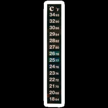 Термометр полоска самоклеящийся на бражную емкость