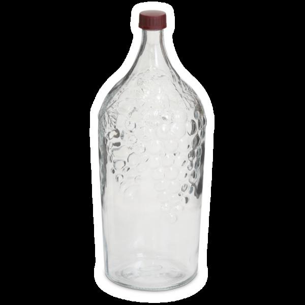 Винная бутыль Виноград 2 л