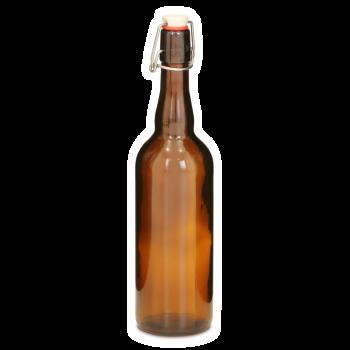 Стеклянная бутылка с бугелем 0.75 л