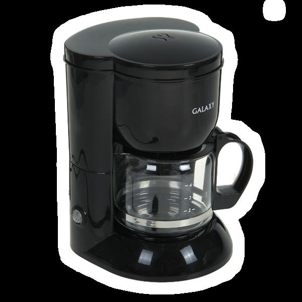 Кофеварка электрическая Galaxy GL 0707, 800 Вт, 0.6 л