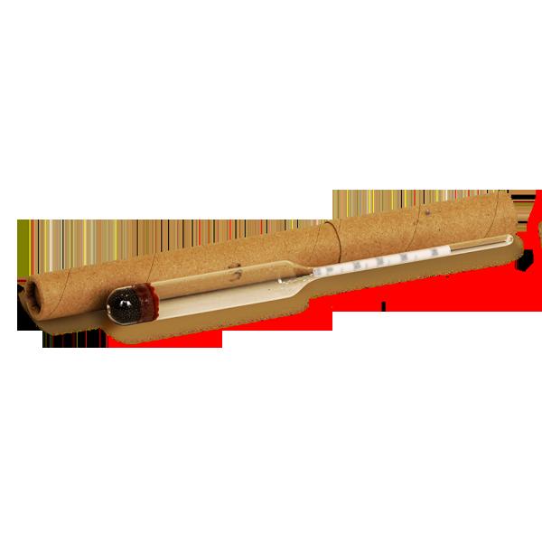 Высокоточный спиртовой ареометр АСП-3 (0-25%), (0-40%), (40-70%), (70-100%)