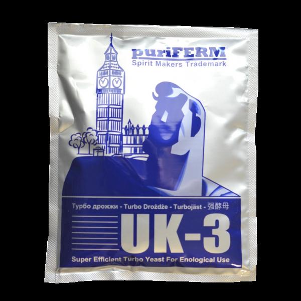 Турбо дрожжи спиртовые Puriferm UK-3