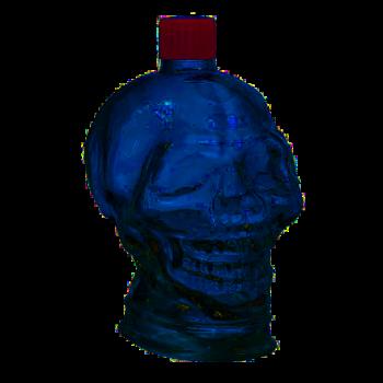 Стеклянная бутылка Череп 1 л