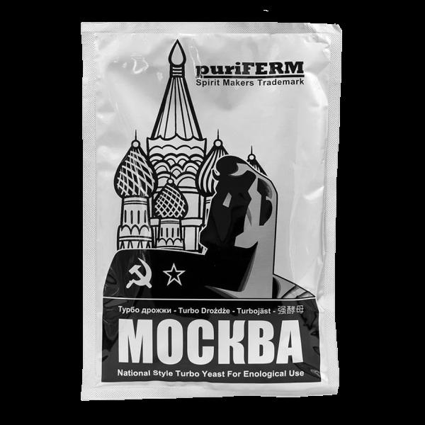 Турбо дрожжи спиртовые PuriFerm Москва Turbo, 140 г
