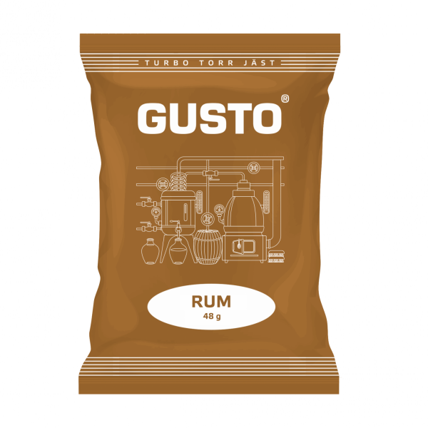 Спиртовые дрожжи Gusto Rum 48 грамм