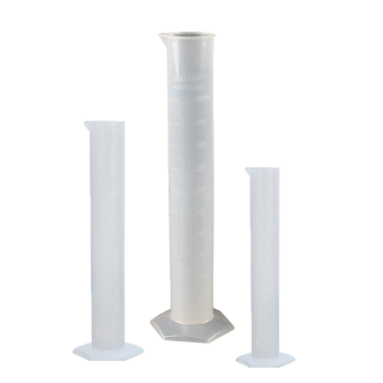 Цилиндр мерный пластиковый